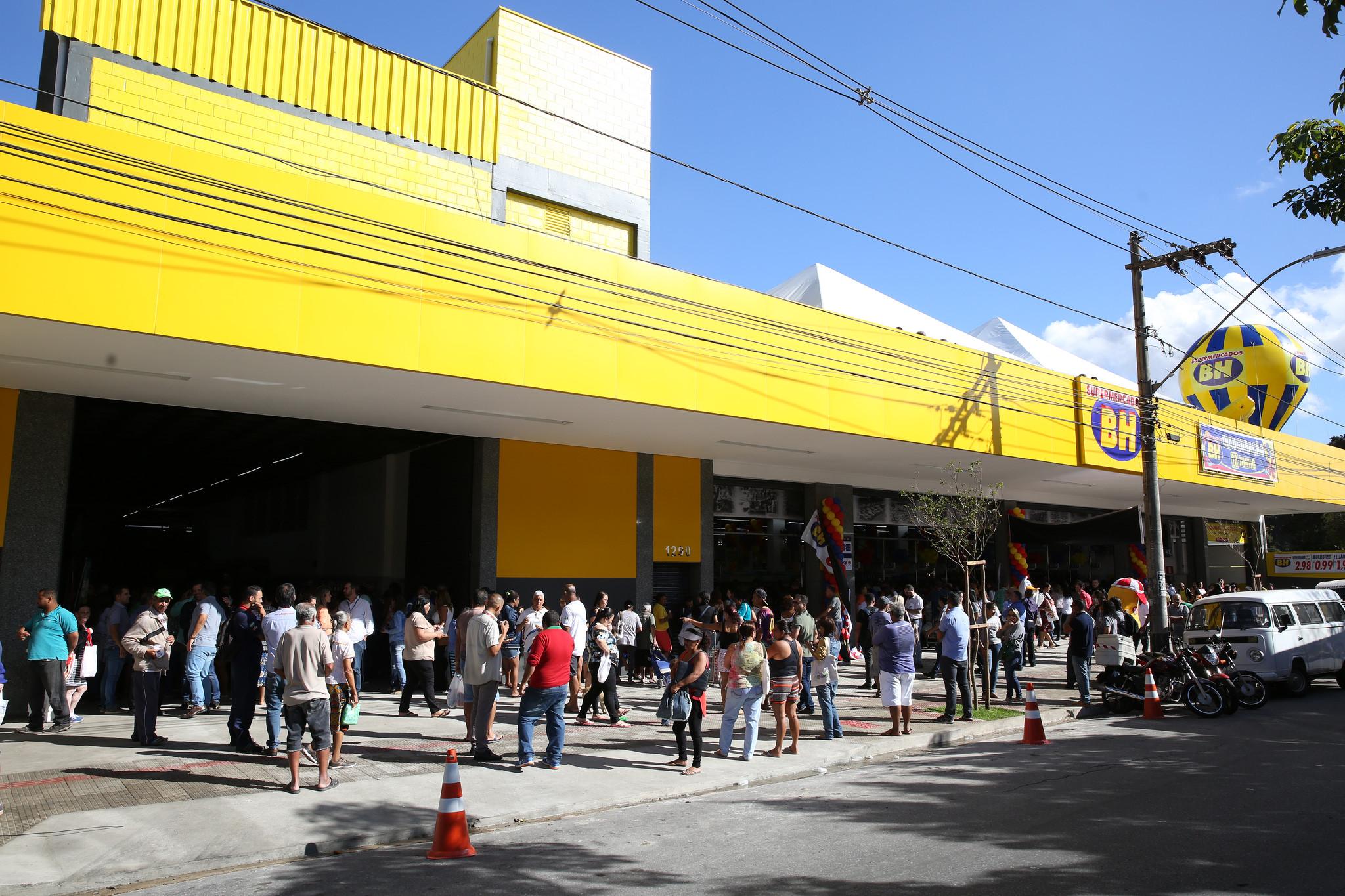 85735b36a SUPERMERCADOS BH INAUGURA LOJA EM VALE DO JATOBÁ - BELO HORIZONTE ...
