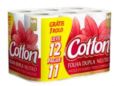 Papel Higiênico Cotton – FD. Lv. 12 Pg. 11 30m