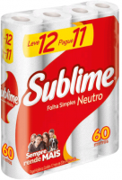 Papel Higiênico Sublime – FS. Lv. 12 Pg. 11 60m