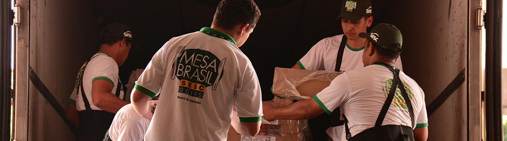 Parceria Mesa Brasil e Supermercados BH