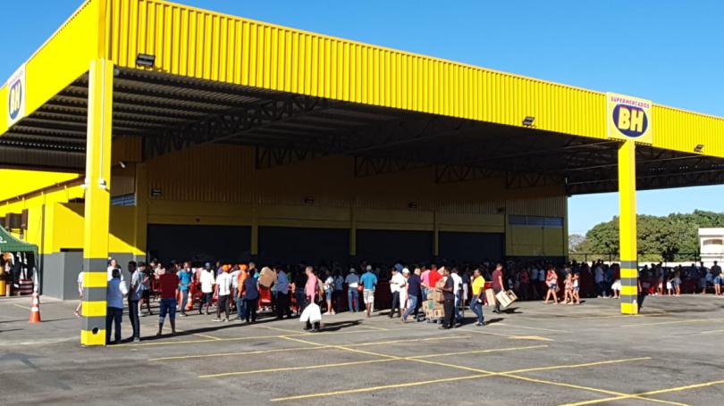 Supermercados BH chega em São Francisco