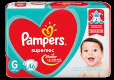 Fralda Descartável Pampers – Hiper