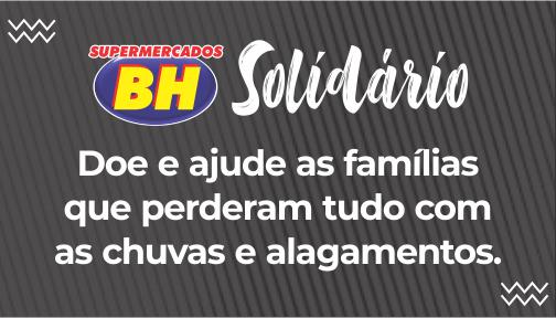 Supermercados BH recebe doações para desabrigados