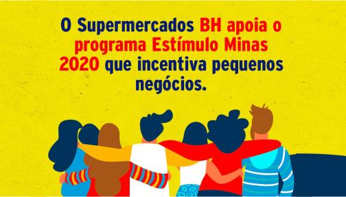 Supermercados BH dá socorro de R$1 milhão para micro e pequenas empresas