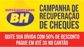 Supermercados BH realiza ação inédita para ajudar clientes a quitarem dívidas de cheques devolvidos