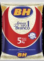 ARROZ AGULHINHA BH – TIPO 1 PCTE. 5KG
