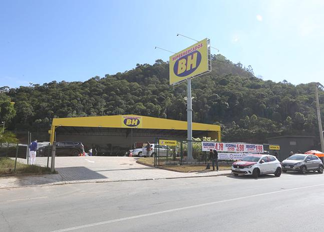 JUIZ DE FORA GANHA UMA NOVA UNIDADE DO SUPERMERCADOS BH