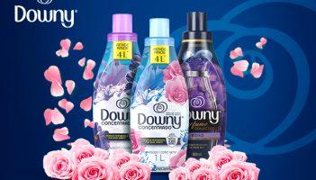 Vista-se de Perfume Downy!